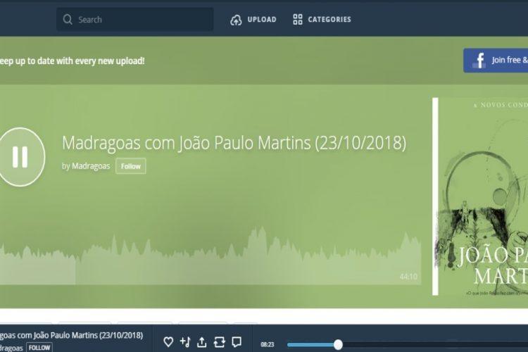 Programa Na Rádio Amália – Madragoas (Podcast)
