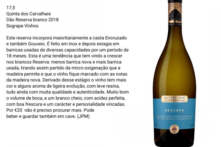 Quinta Dos Carvalhais 2018